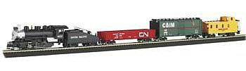 Bachmann Pacific Flyer Set HO Scale Model Train Set #00692