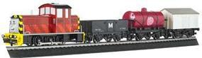 Bachmann Saltys Dockside Delivery Set Thomas-the-Tank Electric Train Set #00696