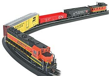 Bachmann Rail Chief Set -- HO Scale Model Train Set -- #00706