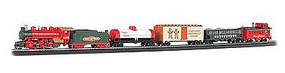 Bachmann Jingle Bell Christmas Express Train Set HO Scale Model Train Set #00724