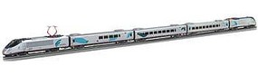 Bachmann Amtrak Acela with DCC & Pantograph Set HO Scale Model Train Set #01204