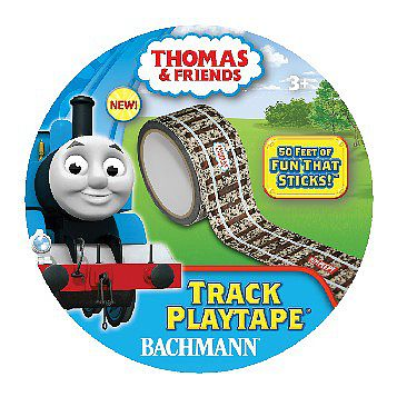 Bachmann 50'x2'' Thomas & Friends Track Playtape -- Wooden Train Accessory -- #09101