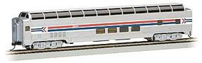 Bachmann 85' Dome Passenger Amtrak HO Scale Model Train Passenger Car #13005