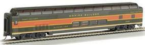 Bachmann 85 Full Dome Passenger Car Lighted Glacier GN HO Scale Model Train Passenger Car #13011