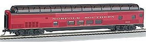 Bachmann 85 Budd Full Dome Norfolk Southern HO Scale Model Train Passenger Car #13047
