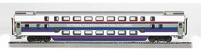 Bachmann Double-Deck Push/Pull Commuter Car - MTA HO Scale Model Train Passenger Car #13246