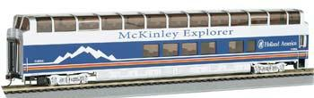 Bachmann 89' McKinley Explorer Chena #1052 -- HO Scale Model Train Passenger Car -- #13341