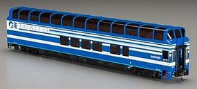 Bachmann 89 Denali Princess Sanford HO Scale Model Train Passenger Car #13345