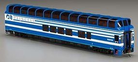 Bachmann 89 Full-Dome Denali Princess Hunter HO Scale Model Train Passenger Car #13346