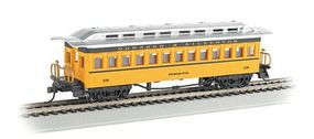 Bachmann 1880 Coach Durango & Silverton 270 HO Scale Model Train Passenger Car #13404
