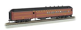 Bachmann 72 Heavyweight Combine Pennsylvania #9921 HO Scale Model Train Passenger Car #13601