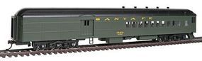 Bachmann 72 Heavyweight Combine Santa Fe #1524 HO Scale Model Train Passenger Car #13603
