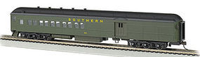Bachmann 72 Heavyweight Combine Southern #654 2 Window Door HO Scale Model Train Passenger Car #13606