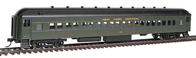 Bachmann 72' Heavyweight New York Central #854 -- HO Scale Model Train Passenger Car -- #13704