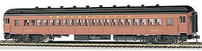 Bachmann 72 Heavyweight Coach PRR Postwar #4536 HO Scale Model Train Passenger Car #13707