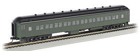 Bachmann 72 Heavyweight Coach with Light Painted Lettered HO Scale Model Train Passenger Car #13708