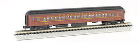 Bachmann 72 Heavyweight Coach Pennsylvania RR N Scale Model Train Passenger Car #13752