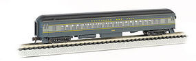 Bachmann 72' Heavyweight Coach Baltimore & Ohio N Scale Model Train Passenger Car #13753