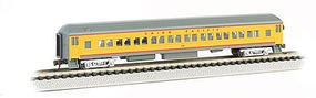 Bachmann 72 Heavyweight Coach Union Pacific N Scale Model Train Passenger Car #13755