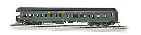 Bachmann 72 Heavyweight Observation with Light Santa Fe 407 HO Scale Model Train Passenger Car #13801