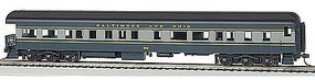 Bachmann 72 Heavyweight Observation w/Light B&O #901 HO Scale Model Train Passenger Car #13803