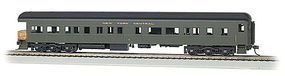 Bachmann 72 Heavyweight Observation w/Light NYC 9 HO Scale Model Train Passenger Car #13804
