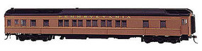 Bachmann 80 Pullman Car W/LED Lighting PRR HO Scale Model Train Passenger Car #13902