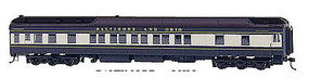 Bachmann 80 Pullman Car w/LED Lighting B&O HO Scale Model Train Passenger Car #13903