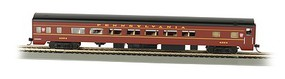 Bachmann 85 Smooth-Side Coach Pennsylvania HO Scale Model Train Passenger Car #14201