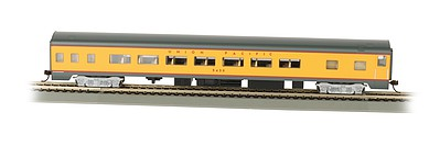 Bachmann 85' Smooth-Side Coach UP -- HO Scale Model Train Passenger Car -- #14204