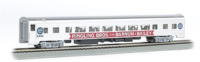 Bachmann 85 Smooth-Side Ringling Bros/Barnum & Bailey Coach HO Scale Model Train Passenger Car #14206