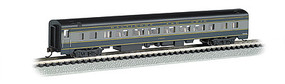 Bachmann 85' Smooth-Side Coach w/Interior Lighting B&O N Scale Model Train Passenger Car #14253
