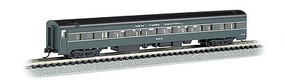Bachmann 85 Smooth-Side Coach w/Interior Lighting NYC N Scale Model Train Passenger Car #14255