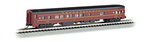 Bachmann 85 Smooth-Side Observation w/Interior Light PRR N Scale Model Train Passenger Car #14351