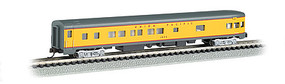Bachmann 85 Smooth-Side Observation w/Int Light Union Pacific N Scale Model Train Passenger Car #14354