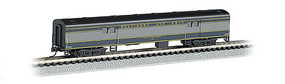 Bachmann 72 Smooth-Side Baggage Car Baltimore & Ohio N Scale Model Train Passenger Car #14453