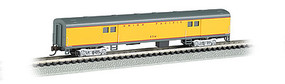 Bachmann 72 Smooth-Side Baggage Car Union Pacific N Scale Model Train Passenger Car #14454