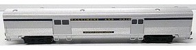Bachmann 85 Streamline Fluted 2-Door Baggage Car B&O N Scale Model Train Passenger Car #14653