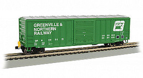 Bachmann HO 50 Outside Braced Box, G&N