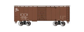 Bachmann 40 Steam Era Boxcar Delaware & Hudson HO Scale Model Train Freight Car #15005