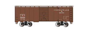Bachmann 40 Steam Era Boxcar Chesapeake & Ohio HO Scale Model Train Freight Car #15006