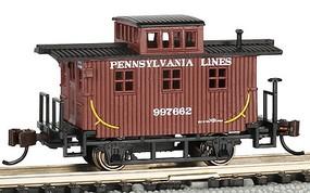 Bachmann N Old Time Caboose, PRRX