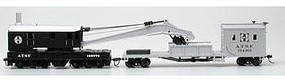 Bachmann SS 250T Crane & Boom Tender SF HO Scale Model Train Freight Car #16102