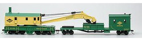 Bachmann SS 250T Crane & Boom Tender Reading HO Scale Model Train Freight Car #16110