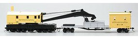 Bachmann SS 250T Crane & Boom Tender Pennsylvania HO Scale Model Train Freight Car #16114