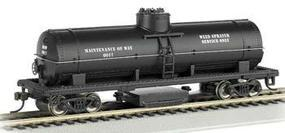 Bachmann Track Cleaning Tank Car MOW HO Scale Model Train Freight Car #16301