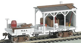 Bachmann Old Time Blacksmith Car Western & Atlantic HO Scale Model Train Freight Car #16402