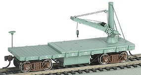 Bachmann Old Time Derrick Car US Military Railroad HO Scale Model Train Freight Car #16419