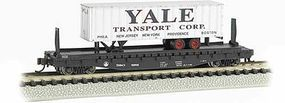Bachmann 526 Flatcar with piggy ACL N Scale Model Train Freight Car #16755