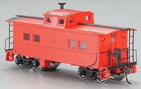 Bachmann Northeast Steel Caboose Painted Unlettered HO Scale Model Train Freight Car #16806